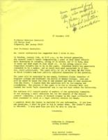 Letter from Catharine Stimpson to Menelaos Hassialis, December 27, 1971, page 1