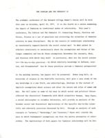 The Scholar and the Feminist IV press release, 1977, page 1