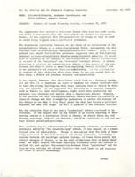 Minutes of second planning meeting, 1977, page 1