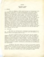 Women's Center Charter, circa 1971, page 1