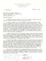 Letter from Cecily C. Selby to Catharine Stimpson, October 11, 1971