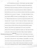 Scholarship and Feminism: Conflict, Compromise, Creativity, 1974, page 3