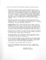 Plan for The Scholar and the Feminist conference, 1974, page 1