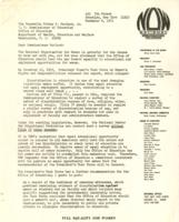 Public letter from the National Organization for Women to Sidney P. Marland, U.S. Commissioner of Education, November 8, 1971, page 1
