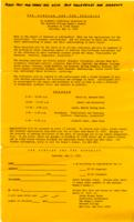 Scholar and Feminist I registration form, 1974, page 2