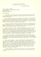 Letter from Iola Haverstick to Catharine Stimpson, December 29, 1971, page 1