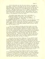 "Letter from Elaine Reuben to Catharine Stimpson, January 10, 1972; ""Feminist Criticism in the Classroom, or, 'What Do You Mean WE, White Man?'"" November 5, 1971, page 4"