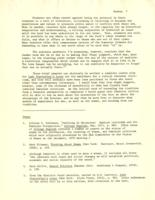 "Letter from Elaine Reuben to Catharine Stimpson, January 10, 1972; ""Feminist Criticism in the Classroom, or, 'What Do You Mean WE, White Man?'"" November 5, 1971, page 8"