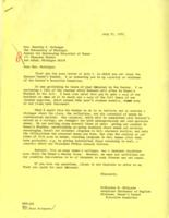 Letter from Catharine Stimpson to Dorothy McGuigan, July 21, 1971, page 1