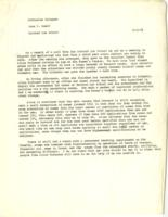 Letter from Jane Gould to Catharine Stimpson, December 6, 1971, page 1