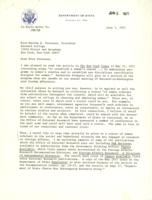 Letter from Idris Rossell to Martha Peterson,June 15, 1971, page 1
