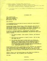Letter from Catharine Stimpson to Florence Howe, November 17, 1971, page 1