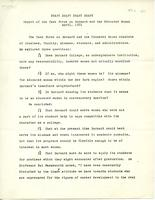 Draft, Report of the Task Force on Barnard and the Educated Woman, April 1971