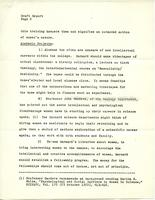 Draft, Report of the Task Force on Barnard and the Educated Woman, April 1971, page 6