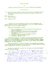 Memo from Jane Gould to Martha Peterson, regarding National Coalition for Research on Women's Education and Development meeting in Racine Wisconsin, January 30, 1971, page 2