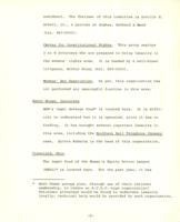 Memo from Helene Kaplan to Ellie Elliott, regarding an outline of groups performing women-related legal services at the present time, October 5, 1971, page 2