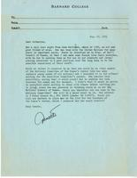 Letter from Annette Baxter to Catharine Stimpson, August 10, 1971