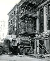 Milbank Hall construction, circa 1953-1954
