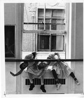 Student dance piece in Streng Studio, circa 1980
