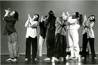 Group dance, circa 1990