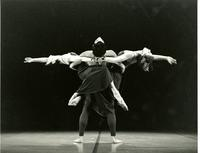 Dance trio performs, 1995
