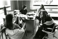 Students Studying in McIntosh, circa 1970s