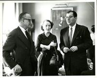Ursula Niebuhr and Other Professors, Spring 1956
