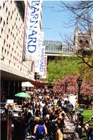 Crowd on Lehman Walk, Spring fair 2003
