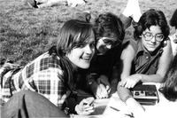 Students on Lawn, circa 1980s