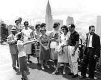 Summer tour at Rockefeller Center, circa 1960s