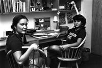 Students in dorm, circa 1980s