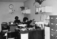 Work study office, circa 1990