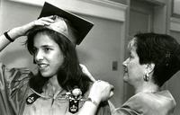 Candid from Commencement, 1994