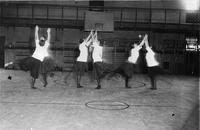 Basketball warmup, circa 1910-1920