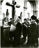 Art History Class at Metropolitan Museum with Professor Julius Held, 1962