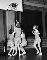 Basketball game, 1935