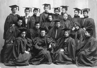 Barnard College Class of 1896 Graduation Portrait