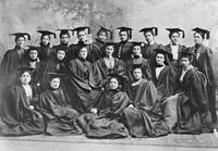 Barnard College Class of 1898 Graduation Portrait