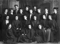 Barnard College Class of 1899 Graduation Portrait