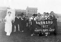 Barnard College Commencement, 1917