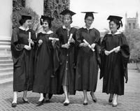 Barnard College Commencement, 1958