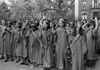 Barnard College Commencement, 1986