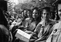 Barnard College Commencement, 1990s-2000s