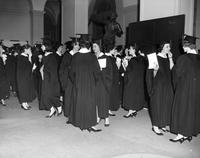 Barnard College Commencement, 1960