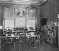 Madison Avenue Campus Parlor Interior, circa 1889