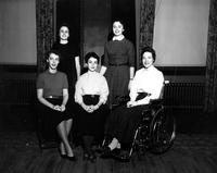 Barnard College Mortarboard Staff, 1955