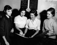 Barnard College Mortarboard Art Staff, 1954