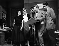 Barnard Students broadcast course, circa 1950s-1960s