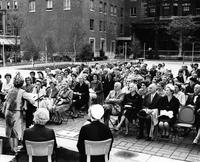 Altschul Court Dedication, 1964