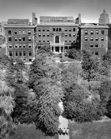 The Jungle and Milbank Hall, circa 1944-1950